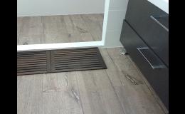 Podlahářské práce, pokládka podlah Znojmo