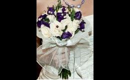 Svatební kytice na míru