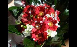 Aranžování svatebních kytic