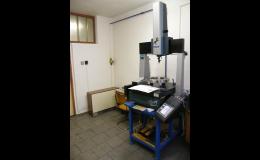 Moderní zařízení na obrábění kovů, 3D měření