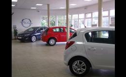 Prodej osobních, užitkových vozů Opel, Fiat, Jeep, Alfa Romeo