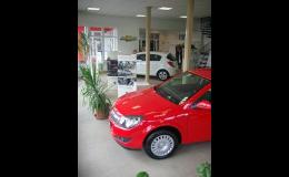 Osobní automobily Opel, Fiat, Jeep, Alfa Romeo - prodej nových, zánovních vozů