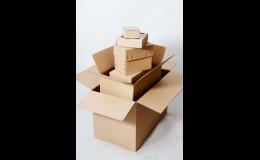 Prodej kartonových výrobků všech velikostí