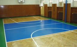 Renovace tělocvičny