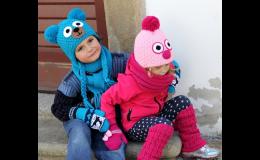 Výroba, predaj pletených čiapok na zákazku, originálne čiapky, šály, rukavice - Česká republika