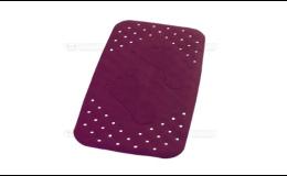 Protiskluzová podložka do vany - fialová