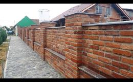 Tryskání a pískování starého zdiva a cihel Česká republika