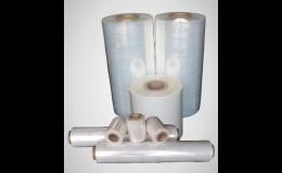 Prepravné vrecia a paletizačné fólie na balenie aj pre fixáciu tovaru na paletách