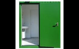plechové dveře - Britra Zlín
