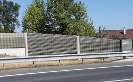 Protihlukové stěny Jihlava