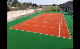 Sportovní povrch pro fotbal, tenis, volejbal - Playrite
