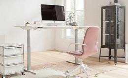 Návrh optimální domácí kanceláře s pohony LINAK