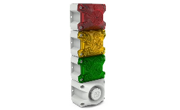 Flexibilní konfigurace - semafor PYRA LED