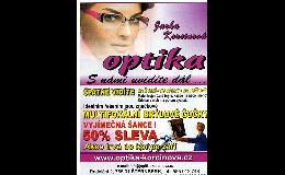Multifokální skla - optika Jaroslava Korcinová Olomouc, Šternberk