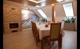Vinařství Hradil u Velkých Pavlovic - degustační místnost
