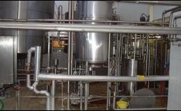 Technologické zařízení pro mlékárny