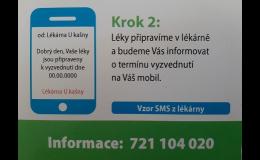 rezervace léků z elektronického receptu - Uherský Brod