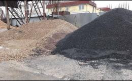 Betonárka Kolín, kontejnerová doprava, rozvoz písku
