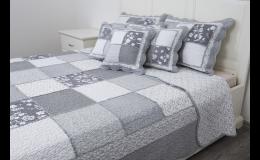Oboustranné přehozy na postel