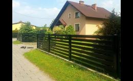 Prodej a dodávka kovových plotových výplní Frýdek-Místek