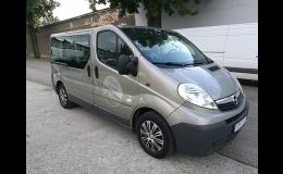 Pronájem vozu Opel Vivaro H1L1 BUS Frýdek-Místek