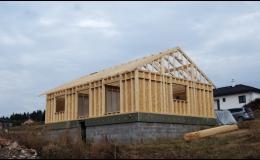 Dřevěné konstrukce, výroba trámových konstrukcí Náchod