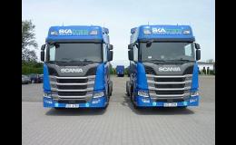 Mezinárodní kamionová přeprava
