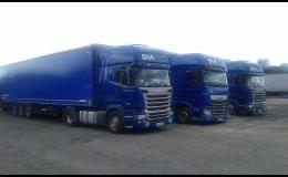 Kamionová doprava do zemí Evropy