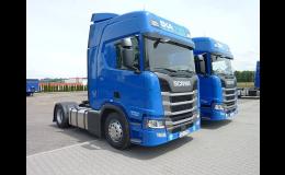 Kamionová mezinárodní doprava do zemí Evropy