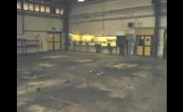 Lité, stěrkové, plastbetonové, antistatické průmyslové podlahy - výroba na zakázku