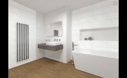 elegantní koupelna - návrhy Kroměříž