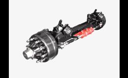 řiditelná náprava ADR pro těžké stroje