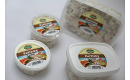 Výrobky studené kuchyně - saláty - pochoutkový, pařížský, sleďový apod