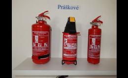Práškové, sněhové, pěnové hasicí přístroje - prodej