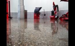 Systém Superbeton - metoda renovace betonových podlah