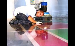 Technologie Superbeton - barvení betonových podlah