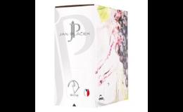 Bílé, červené, růžové odrůdové víno ze Znojemské podoblasti