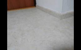 Podlahové lišty v různém dekoru