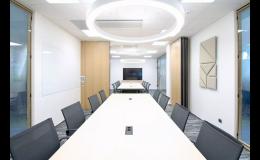 Chytré rozdělení konferenčních místností