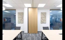 Mobilní stěny Multiwal pro firemní prostory
