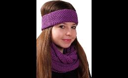 E-shop dámské, dívčí pletené čelenky