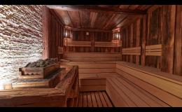 opalované dřevo do sauny