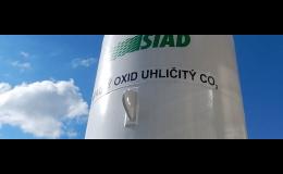 Plnění lahví CO2 a hasících přístrojů Znojmo