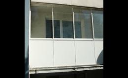 Zasklívání balkónů Šumperk