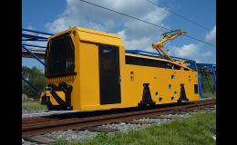 Výroba pozemních trolejových lokomotiv