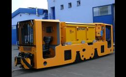 Akumulátorové lokomotivy - výroba