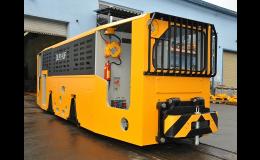 Důlní i povrchové dieselové lokomotivy - výroba