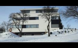 Architektonické stavby na klíč, rodinné a bytové domy