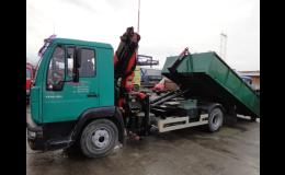 CH + S SERVIS s.r.o., dodávka hydraulických rukou, kontejnerů