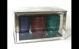 Nerezové schránky pro tři urny - výroba, prodej